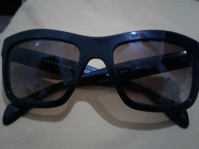 137cdda9d Óculos De Sol Prada Original Unissex Novo Troco - Bijouterias ...