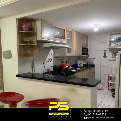 Apartamento com 3 dormitórios à venda, 60 m² por R$ 190.000 - Jardim Cidade Universitária  - Foto 5