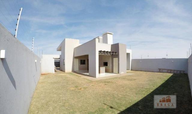 Vende-se casa com 150,41 m2 de laje, Bairro Green Ville ll ? Naviraí - MS - Foto 16