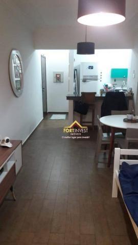 Apartamento com 1 dormitório à venda, 53 m² por R$ 170.000,00 - Canto do Forte - Praia Gra - Foto 4