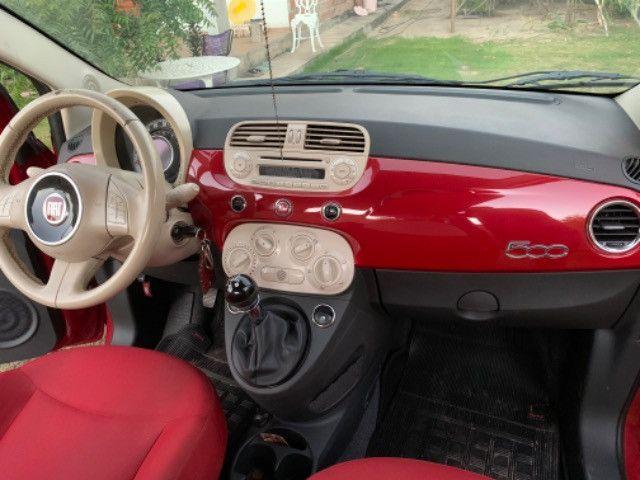 Fiat 500 2013 1.4 Flex Manual Completo - Foto 10