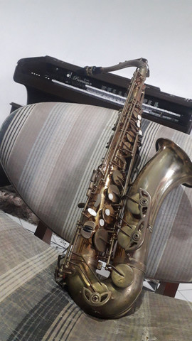 Sax tenor dolphin adição especial instrumento desplacado  - Foto 3