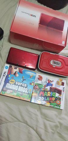 Nintendo 3ds colecionador 2 jogos originais