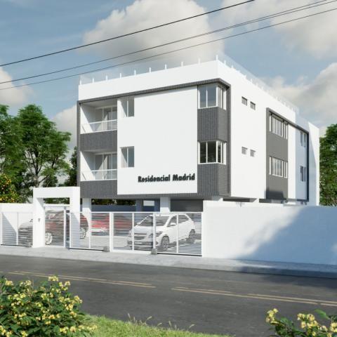 Apartamento à venda com 2 dormitórios em Bancários, João pessoa cod:008490 - Foto 2