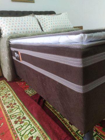 CAMA BOX CASAL MASTER C/PILLOW TOP<br><br> - Foto 5