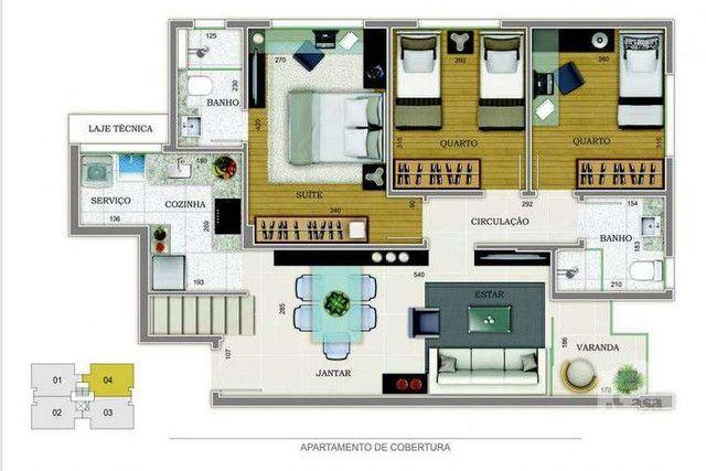 Grand Venue - 76m² - 3 quartos - Santo Antônio, Belo Horizonte - MG - Foto 9