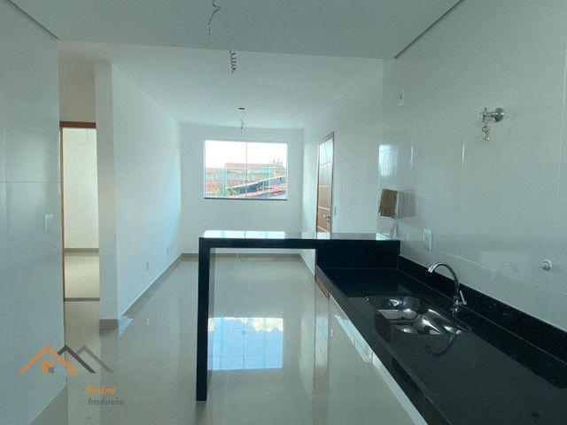 Apartamento com 2 quartos suíte e elevador à venda, 50 m² por R$ 260.000 - Santa Mônica -