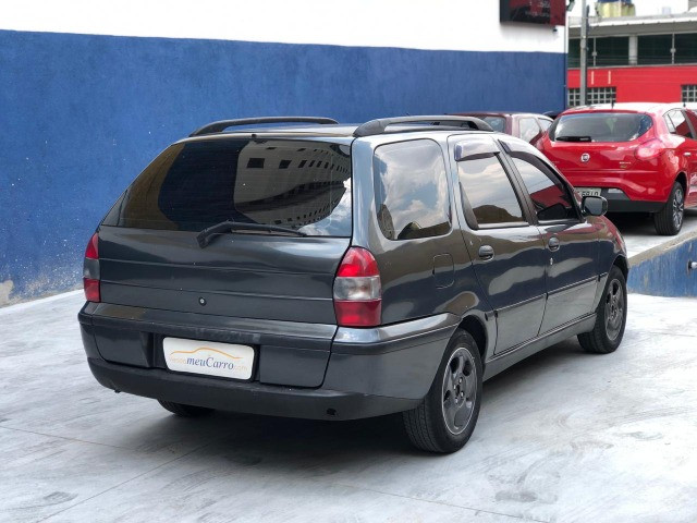 Fiat Palio Weekend 1.0 6 marchas. Carro completo! - Foto 2