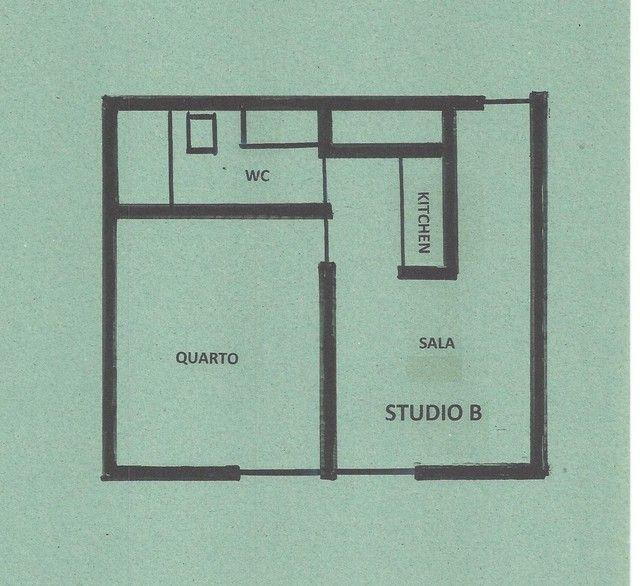 Student Housing - Studio B - Praia de Boa Viagem (Pina) - 28m2 - Foto 20