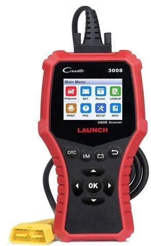 Scanner injeção Launch Creader 3008 - Foto 4