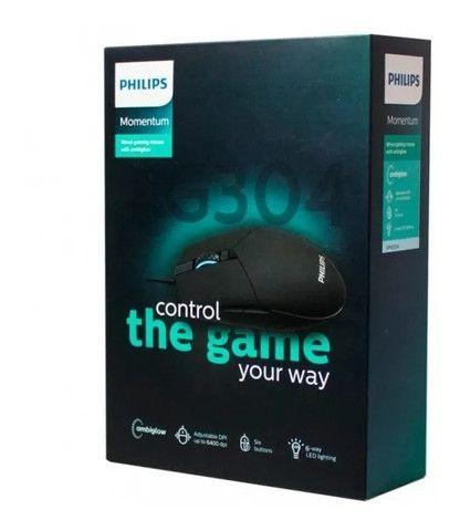 Mouse Gamer Philips Momentum G304 Preto - Loja Natan Abreu  - Foto 6