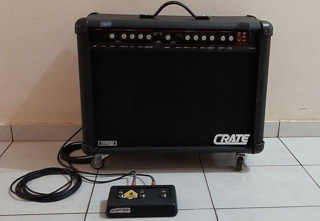 Amplificador Guitarra EUA Crate GXT100. Não aceito troca!