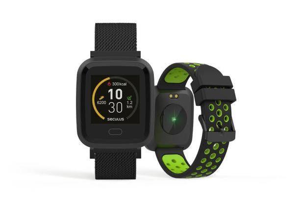 Smartwatch séculos preto