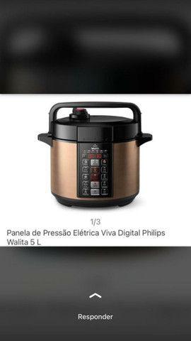 Panela de pressão elétrica Philips Walita 5L