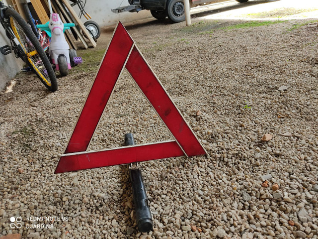 Triângulo carro - Foto 4