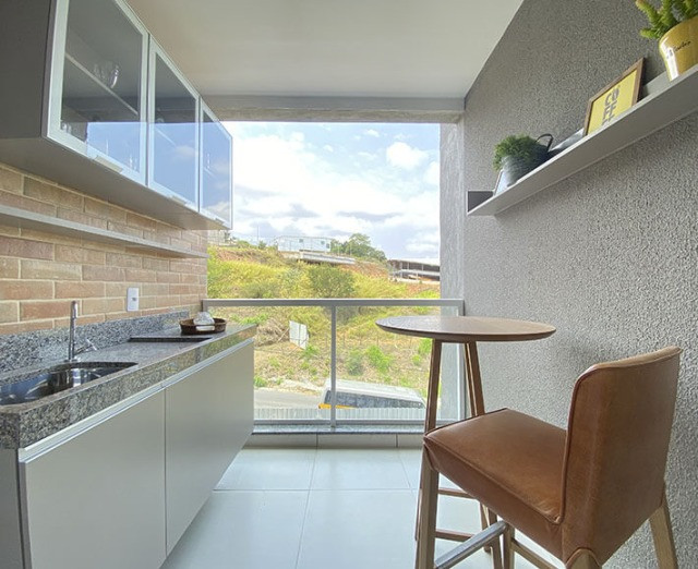 Apartamento 2 quartos (suíte) com varanda gourmet no Aeroporto - Pronto para morar!!! - Foto 2