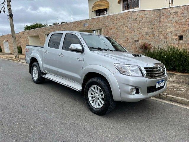 Toyota Hilux 3.0 SRV 2013 TOP Controle tração OPORTUNIDADE ABAIXO FIPE - Foto 3