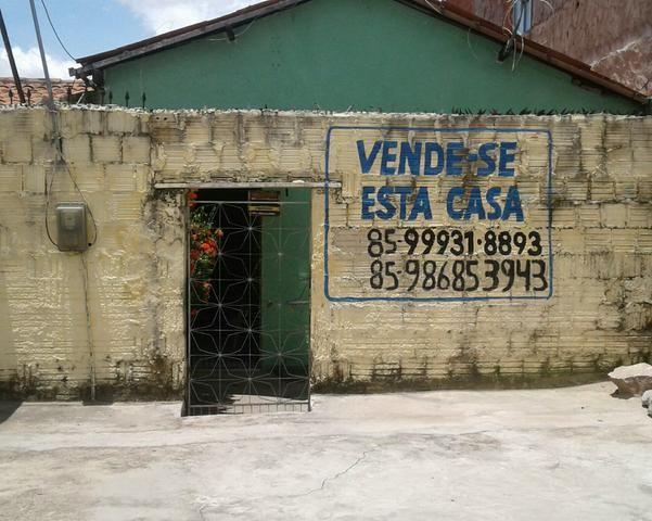Vendo casa na caucaia r$ 100,00