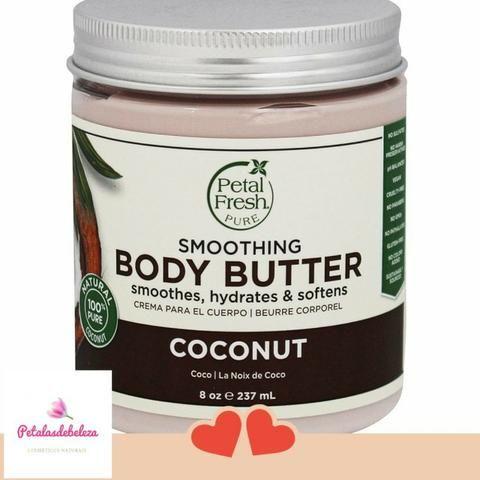 Manteiga Vegana Corporal Petal Fresh Pure