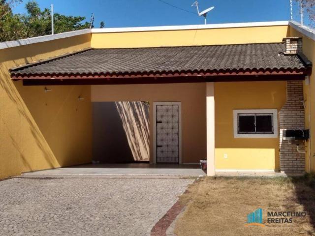 Casa com 3 dormitórios para alugar, 120 m² por r$ 1.239,00/mês - tamatanduba - eusébio/ce - Foto 5