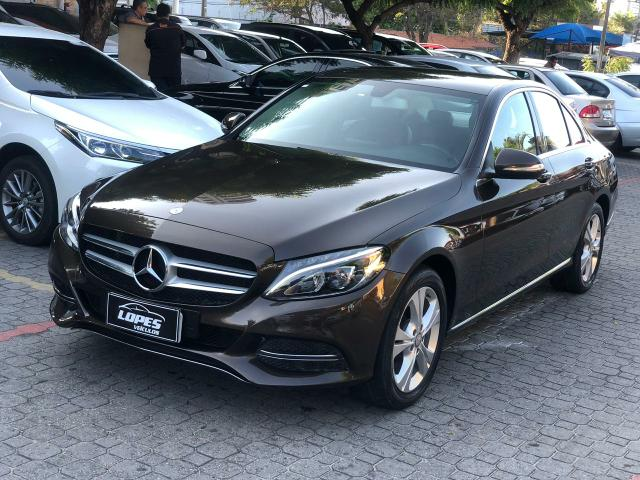 Mercedes C180 2015 Multimídia, Banco Couro, Desafio Mais Nova!