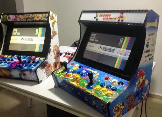 Fliperamas, bartops e controle arcade - Foto 3