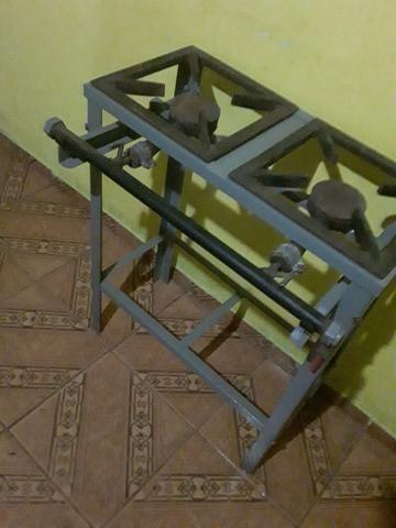 Fogão industrial duas boca - Foto 2