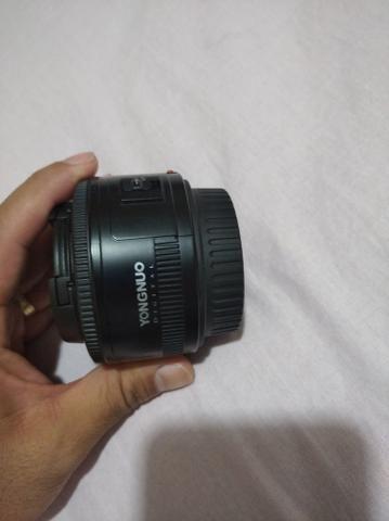 Vendo lente 50mm canon - Foto 5
