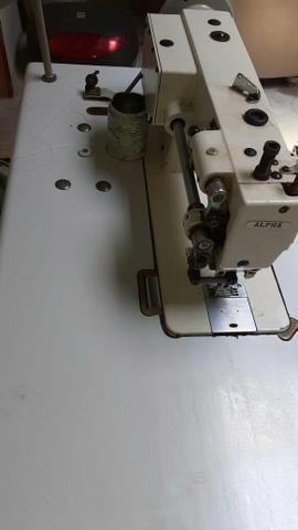 Maquina de costura couro transporte duplo - Foto 3