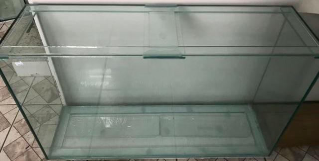Aquário 300 litros 150x40x50cm (CxLxA) - Vidro 10mm c/ Travas Francesas + Tampa