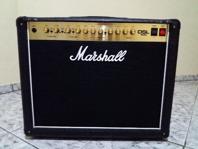 Amplificador Marshall Dsl 40C Valvulado - Foto 2