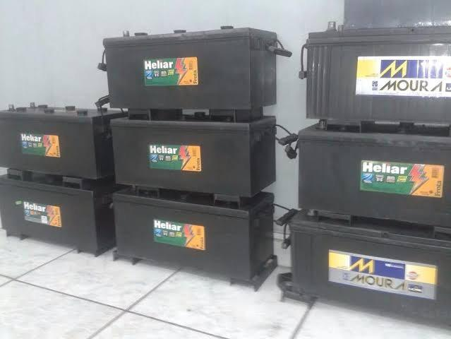 Baterias de caminhão