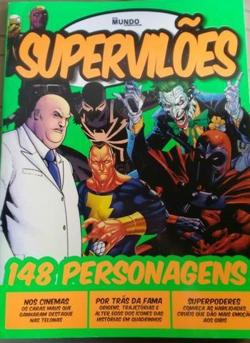 Guia Mundo em foco - Supervilões - 148 personagens
