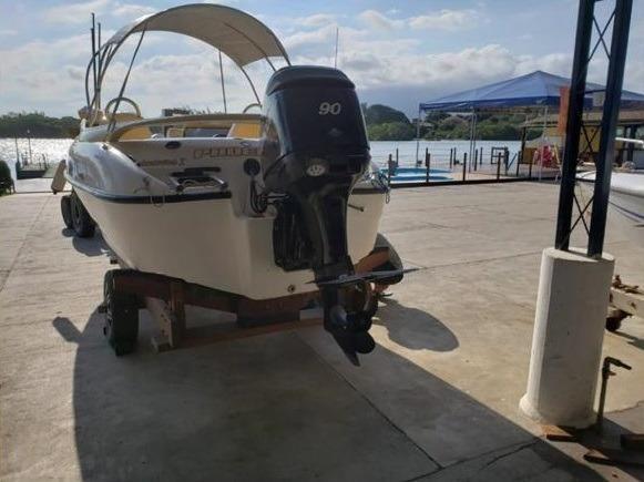 Lancha Phoenix 19,5 C Motor 4 Tempos - Foto 2