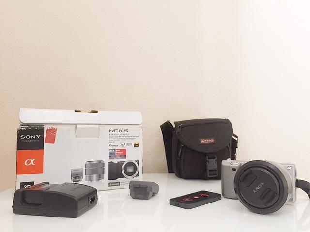 Câmera Mirroless Sony Nex 5 - Foto 2