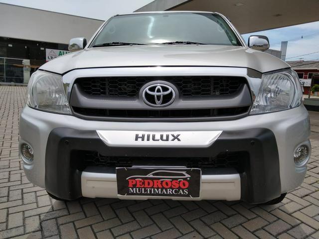 Toyota Hilux CD SR 2.7 WTi 2010 GASOLINA - Foto 3