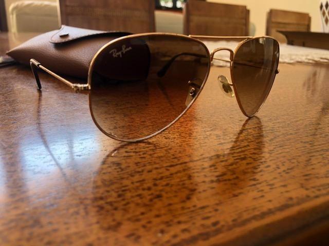 2a27b1a526b22 Óculos Ray Ban Original Modelo Aviador - Bijouterias, relógios e ...