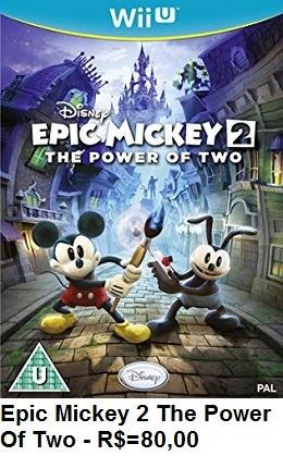 Epic Mickey 2 the power of two de Wii U