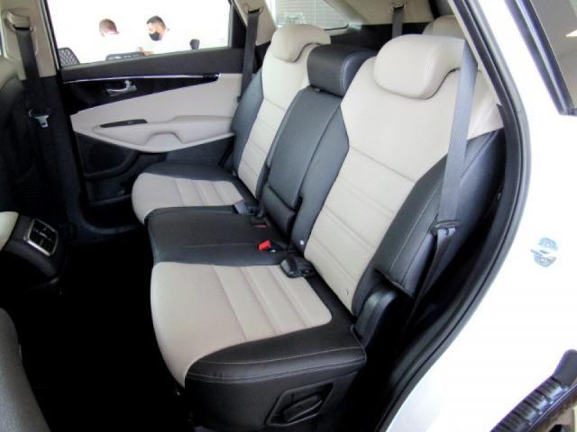 KIA SORENTO 2019 3.5 V6 GASOLINA EX 7 LUGARES 4WD AUTOMÁTICA BRANCA COMPLETA + TETO SOLA - Foto 7