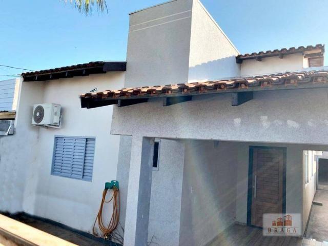 Vende-se casa com 160,00m², terreno 7,50mt x 40,00mt, bairro Portinari - Naviraí - MS - Foto 2