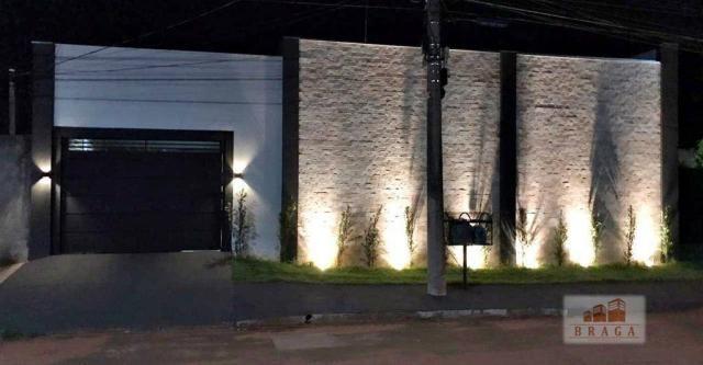 Casa com 2 dormitórios à venda, 106 m² por R$ 220.000,00 - Jardim Oasis - Navirai/MS - Foto 2