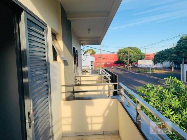 Apartamento com 3 dormitórios para alugar, 70 m² por R$ 950/mês - Centro - Navirai/MS - Foto 8