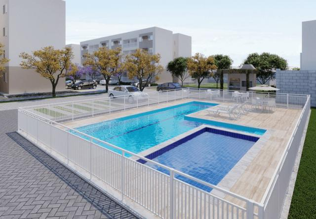 MF - Condomínio Clube Vila da Mata - 2Qts,Varanda e piscina e Lazer - Foto 9