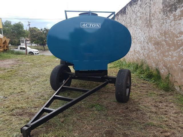 Carreta tanque d'água 5000 litros Acton