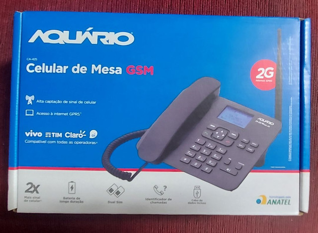 Telefone Rural 02 chip's - Foto 2