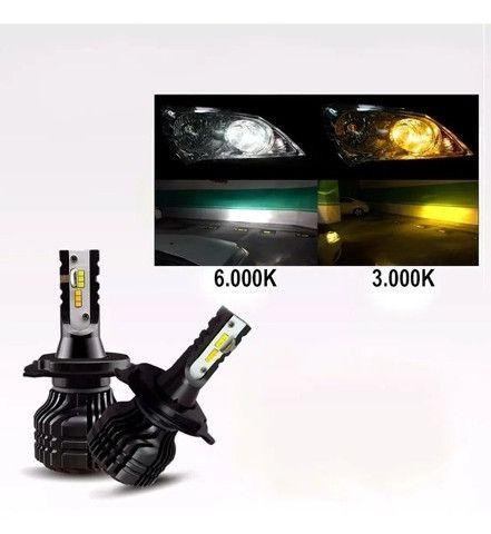 Led -Two -H1/H13/H7/H16/HB4/HB5 - Color 3000K & 6000K - FP imports - Caruaru (PE) - Foto 2