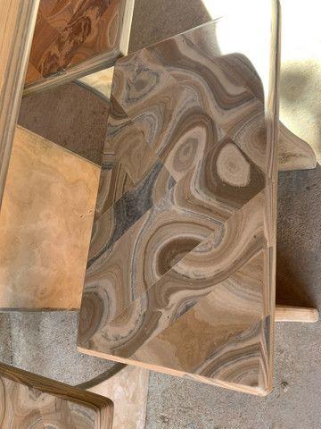Mesa feita de pedra  - Foto 4