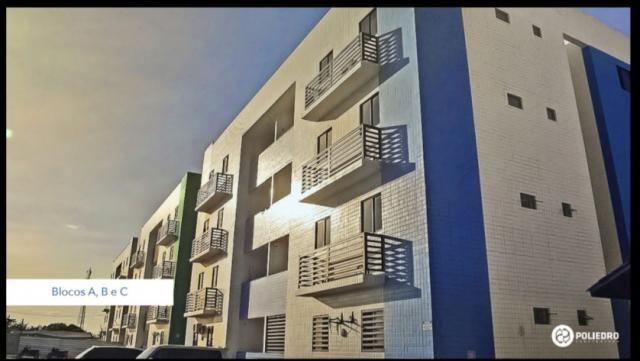 Apartamento à venda com 2 dormitórios em Paratibe, João pessoa cod:007110 - Foto 2