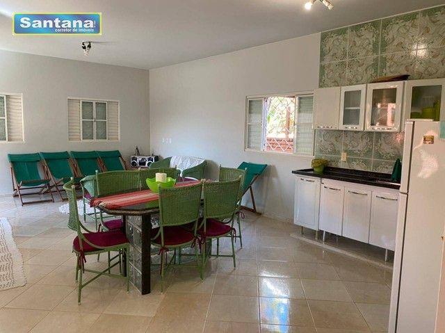 Chale de Laje com 4 dormitórios todos suites, à venda, 165 m² por R$ 250.000 - Mansões das - Foto 10