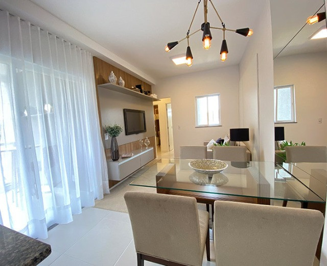 Apartamento 2 quartos (suíte) com varanda gourmet no Aeroporto - Pronto para morar!!! - Foto 4